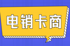 惠州电话销售卡
